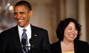 Obama Sotomayor 2
