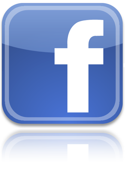 Facebook Icon Reflect