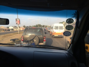 If you think San Antonio rush hour is bad, you ought to try morning traffic in Accra!