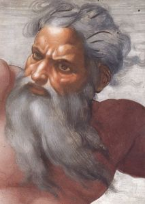 God - Michelangelo