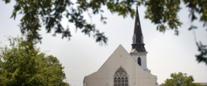 A view ofthe Emanuel AME Church is seen June 18, 2015 in Charleston, South Carolina, after a mass shooting at the church on the evening of June 17, 2015.  US police on Thursday arrested a 21-year-old white gunman suspected of killing nine people at a prayer meeting in one of the nation's oldest black churches in Charleston, an attack being probed as a hate crime. The shooting at the Emanuel African Methodist Episcopal Church in the southeastern US city was one of the worst attacks on a place of worship in the country in recent years, and comes at a time of lingering racial tensions. AFP PHOTO/BRENDAN SMIALOWSKI        (Photo credit should read BRENDAN SMIALOWSKI/AFP/Getty Images)