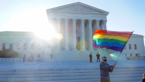 Arguments at the United States Supreme Court for Same-Sex Marriage on April 28, 2015