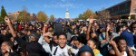 Thousands gather on Mizzou quad after university system presidentresigns